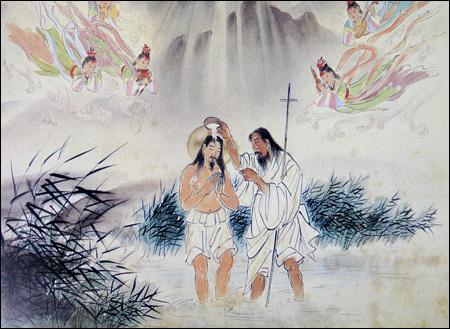 jesus-baptism-by-john-woonbo-kim-ki-chang
