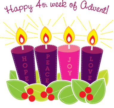 Happy-4th-Week-Of-Advent-Clipart